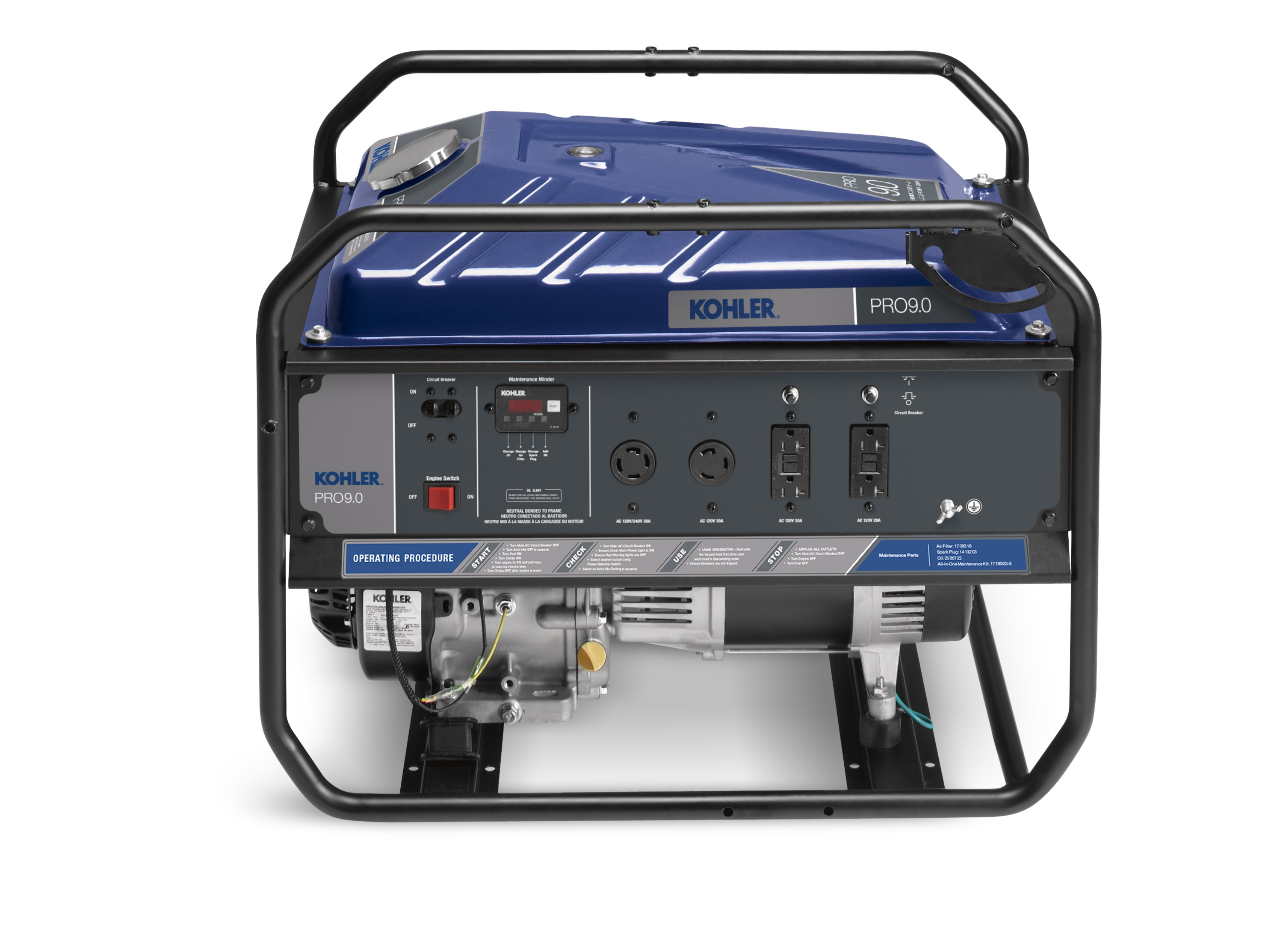 New KOHLER Portable Generator Allows Users to Select Between