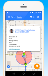 Pocady allows anyone to track the GPS coordinates of their personal and business contacts, as well as access check-in and mileage information, both from the mobile app and also from any browser - whether mobile or on a desktop or laptop.