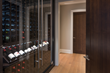 Double-Sided Custom Wine Cabinet
