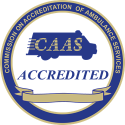 Commission on Accreditation of Ambulance Services logo