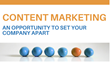 Where to Begin With Content Marketing: Magnificent Marketing Presents a New Webinar on How Companies Can Set Themselves Apart From the Competition