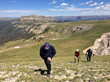Guided or unguided hikes through the mountains of the Shoshone National Forest are just one of many nature-rooted activities for guests at Brooks Lake Lodge & Spa in Wyoming.