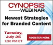 Must-Attend Branded Content Webinar Presented by Cynopsis