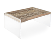 Phillips Wood Panel Table by Square Feathers