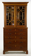 19th C. Federal Mahogany Secretary Bookcase