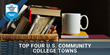 TurboTenant Awards Top Four US Community College Towns