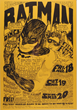$30,000 Reward Announced for Bill Graham BG-2 Batman Fillmore Auditorium 3/18/66 Concert Poster by Psychedelic Art Exchange