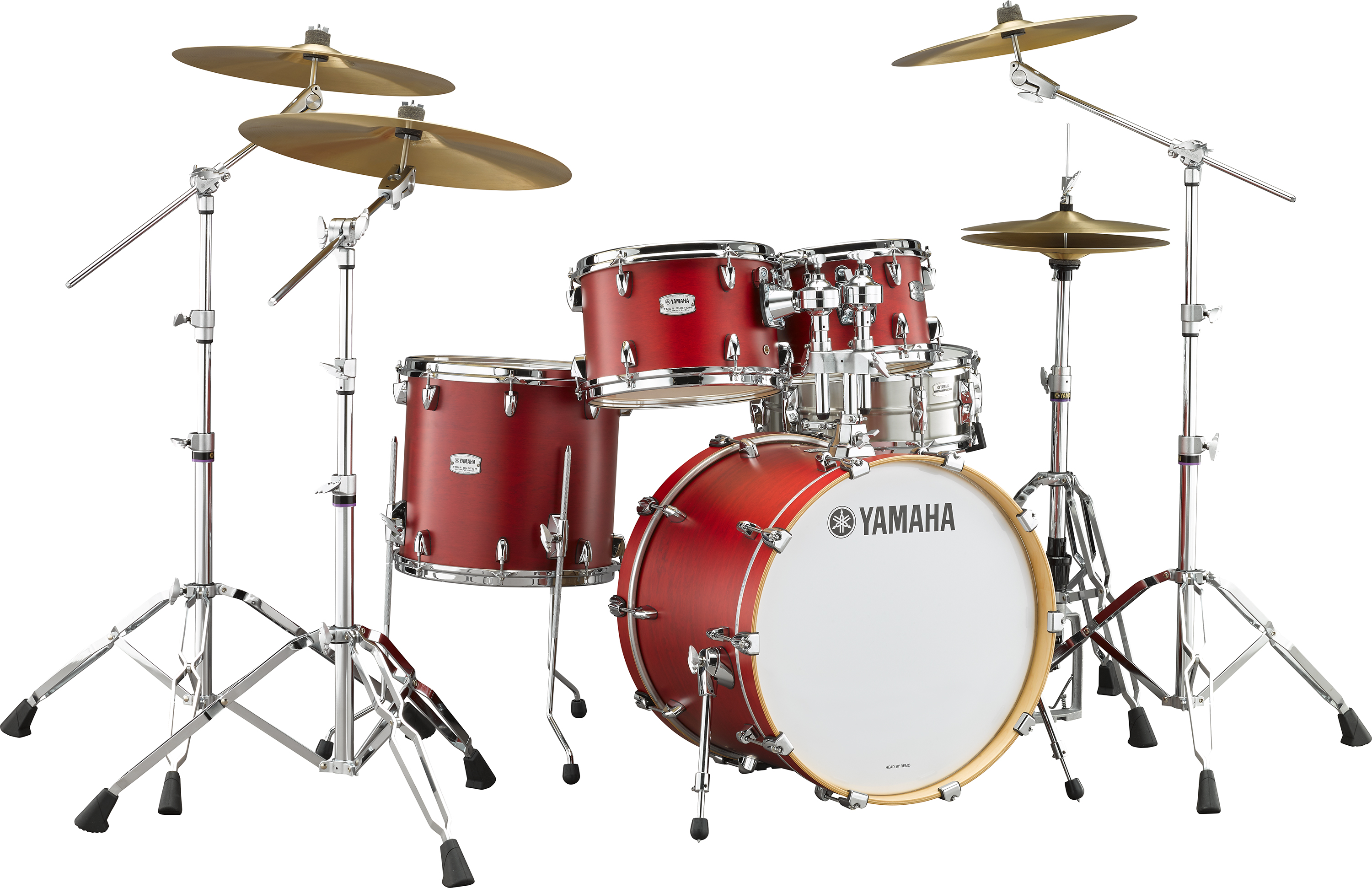 yamaha tour custom maple drum set suits modern working drummers with durability and organic sound. Black Bedroom Furniture Sets. Home Design Ideas