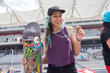 Monster Energy's Lizzie Armanto will compete in Women's Skateboard Park at X Games Minneapolis 2017