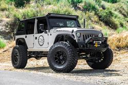 Black Rhino Wheels - the Overland on a Jeep Wrangler