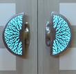 Coral Illuminated Door Pull Video by Martin Pierce