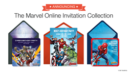 Marvel Online Invitations