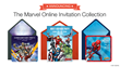 Punchbowl® Launches Marvel Online Invitation Collection