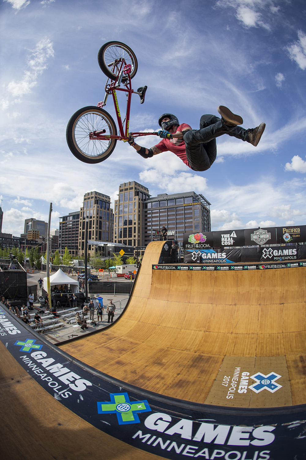 Monster Energy S Jamie Bestwick Takes Silver In Bmx Vert At X