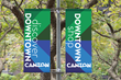 City of Canton Pole Banners designed by advertising agency id8