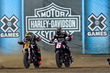 Monster Energy's Jared Mees Takes Silver and Brad Baker Takes Bronze in Flat Track at X Games Minneapolis 2017
