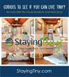 Tiny House Building Company, LLC Launches Staying Tiny for Short-Term Tiny House Stays