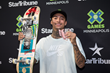 Monster Energy's Nyjah Huston Takes Third Place in Monster Energy's Skateboard Street at X Games Minneapolis 2017