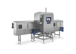 X3750 x-ray inspection system for tall, rigid containers