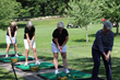 New this year at HOW's Golf Invitational was a women's golf clinic offered by Westchester Hills Golf Club Professionals, where participants were taught full golf swings and short game basics.