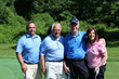 More than 20 foursomes participated in HOW's 15th Annual Golf Invitational on June 20. (L-R):  Michael Serluco, Richard Serluco, Cal Kaplow and Karen Zanzarella, Golf Invitational Coordinator