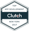 B2B Research Firm Clutch Announces Dom & Tom as a Top App Development Company of New York in 2017