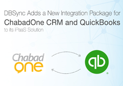 Integration Package for ChabadOne CRM and QuickBooks by DBSync
