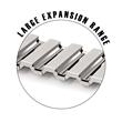 Twist-O-Flex Apple Watch Band Large Expansion Range