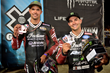 """Monster Energy's Brad """"The Bullet"""" Baker Takes Bronze and Jared Mees Takes Silver in Flat Track at X Games Minneapolis 2017"""