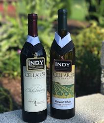 two bottles of wine, both award winning