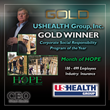 USHEALTH Group, Inc. Honored as Gold Winner in the Annual 2017 CEO World Awards® for Corporate Social Responsibility Initiative