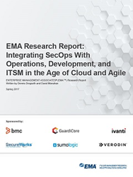 Integrating SecOps With Operations, Development, and ITSM in the Age of Cloud and Agile