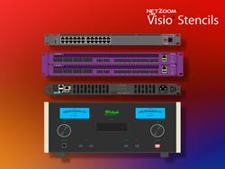 Visio stencils for IT professionals
