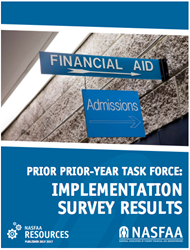 NASFAA First Year of PPY Survey Results