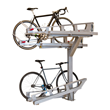 New and Improved Dero Decker Two-tiered Bike Parking System