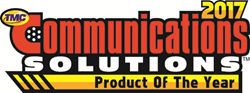 TMC Communications Solution Product of the Year 2017 logo