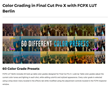 Final Cut Pro X - FCPX LUT Berlin - Pixel Film Studios