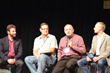 Proudfit and Cincinnati pastors hold a panel discussion at a recent AWOP event.