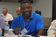 AWOP member Evans Nwankwo enjoys a recent AWOP leadership summit.