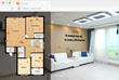 A 3D virtual tour with an interactive floor plan