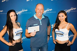 Congratulations David Cooper for Winning $10,000 Hole-In-One during Sapphire Foundation for Prostate Cancer 14th Annual Golf Tournament
