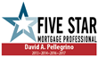 Denver Loan Officer David Pellegrino Achieves 5 Star Mortgage Professional Status