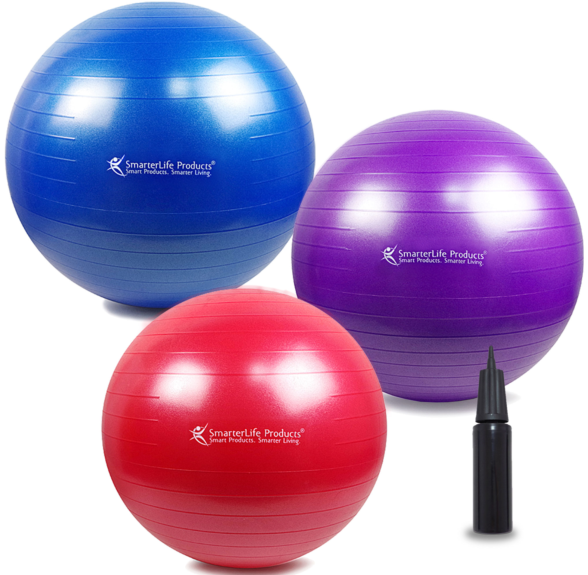fitness ball purple 30in75cm diameter includes 1 ball 1