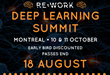 New Speakers Announced for the RE•WORK Montreal Deep Learning Summit, 10 & 11 October: Hear from Facebook, Twenty Billion Neurons, Google Brain, NYU, Maluuba and more