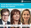 The Leukemia & Lymphoma Society and PlatformQ Health Present Virtual Education Event for Cancer Patients with Acute Myeloid Leukemia (AML)