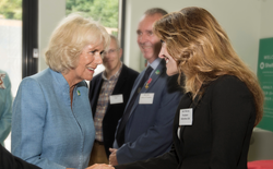 Her Royal Highness, The Duchess of Cornwall, meets with ShelterBox USA President, Kerri Murray