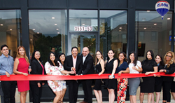 Brokers At RE/MAX Loyalty, Chicago, Gathered For A Ceremonial Ribbon  Cutting At Their Grand Opening Party.