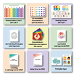 The Time-In ToolKit includes nine components, from posters, and games to calming coloring sheets for kids and how-to manuals for adults.