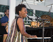 Oleta Adams plays at the Eric Marienthal and Friends Jazz Concert benefiting High Hopes Brain Injury Program. Photo by Sheri Determan.