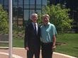 Mick O'Rourke and Dr. Joseph Schmidt
